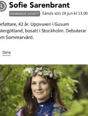 Extrainsatt stödtelefon och stödchatt 28/6